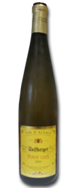 bouteille pinot gris 2007